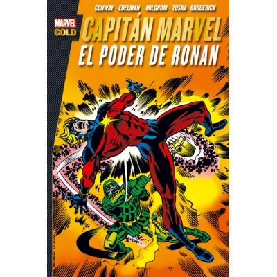 Capitán Marvel: El poder de Ronan (Marvel Gold)