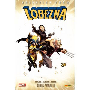 100% Marvel. Lobezna 02 - Civil War II