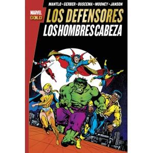 Marvel Gold. Los Defensores: Los Hombres Cabeza
