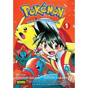 Pokemon nº 13. Rojo fuego y verde hoja nº 01