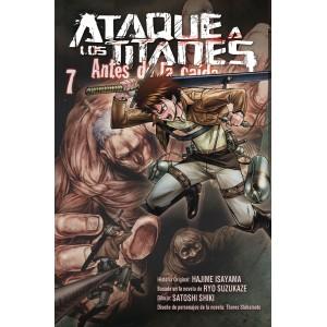 Ataque a los Titanes: Antes de la Caída nº 07