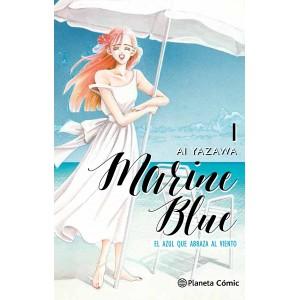Marine Blue, el azul que abraza al viento nº 01
