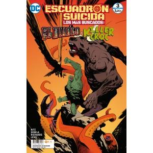 Escuadrón Suicida: El Diablo/Killer Croc - Los más buscados nº 9/3