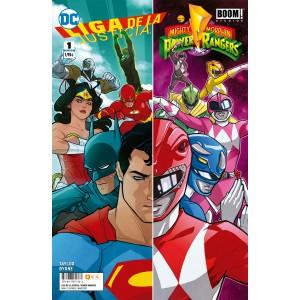 Liga de la Justicia/Power Rangers nº 01