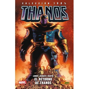100% Marvel HC. Thanos nº 01