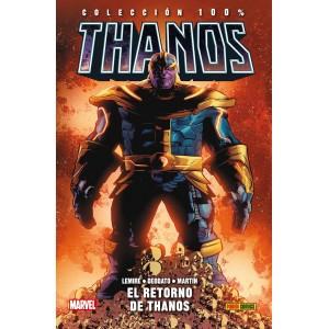 100% Marvel HC. Thanos nº 01