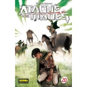 Ataque a los Titanes nº 20