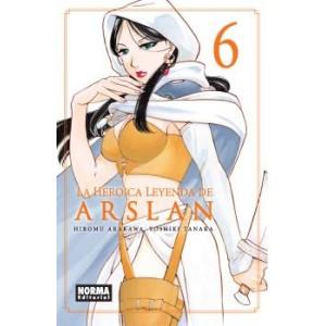 La Heroica Leyenda de Arslan nº 06