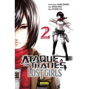 Ataque a los titanes: Lost Girls nº 02