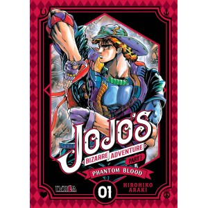 JoJo's Bizarre Adventure Parte 01: Phantom Blood nº 01