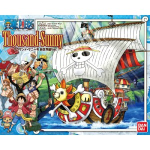 One Piece Grand Ship Collection - Maqueta Plastic Model Kit Thousand Sunny New World Ver