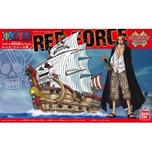 One Piece Grand Ship Collection - Maqueta Plastic Model Kit Red Force 15 cm