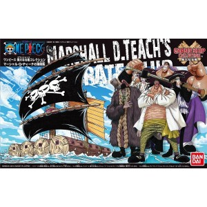 One Piece Grand Ship Collection - Maqueta Plastic Model Kit Marshall D. Teach's Ship 15 cm