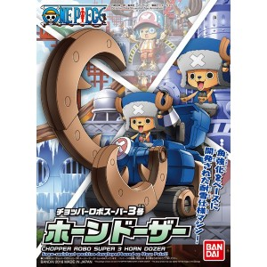 One Piece Chopper Robo Super Series - Maqueta Plastic Model Kit Horn Dozer