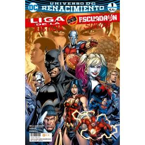 Liga de la Justicia contra Escuadrón Suicida nº 01 (Renacimiento)