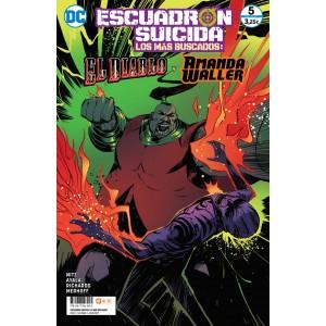 Escuadrón Suicida: El Diablo/Amanda Waller - Los más buscados nº 11/5