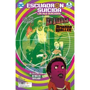 Escuadrón Suicida: El Diablo/Amanda Waller - Los más buscados nº 12/5