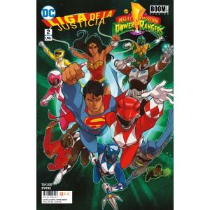Liga de la Justicia/Power Rangers nº 02