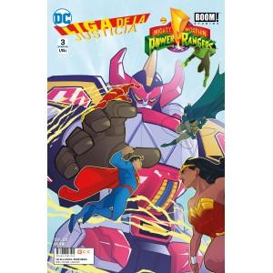 Liga de la Justicia/Power Rangers nº 03