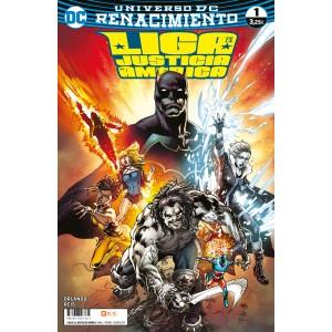 Liga de la Justicia de América nº 01 (Renacimiento)