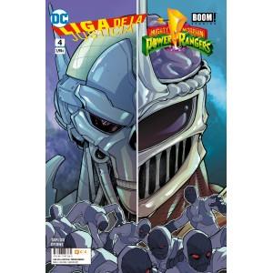 Liga de la Justicia/Power Rangers nº 04