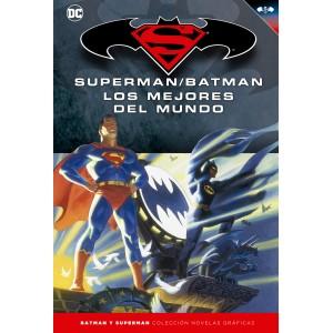Batman y Superman - Colección Novelas Gráficas nº 16: Los mejores del mundo