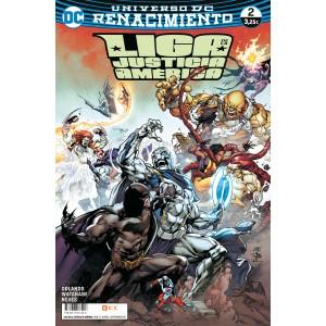 Liga de la Justicia de América nº 02 (Renacimiento)