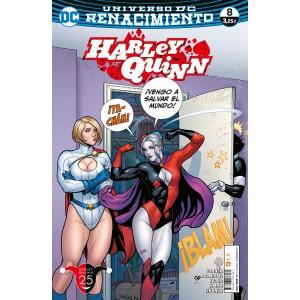 Harley Quinn nº 16/ 8 (Renacimiento)
