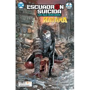 Escuadrón Suicida: Katana - Los más buscados nº 14/ 2