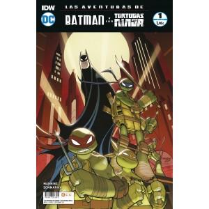 Las aventuras de Batman y las Tortugas Ninja nº 01
