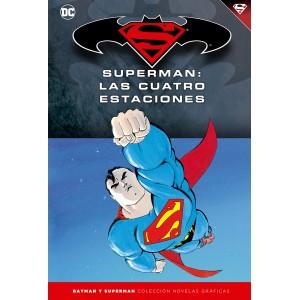 Batman y Superman - Colección Novelas Gráficas nº 17: Superman: Las cuatro estaciones
