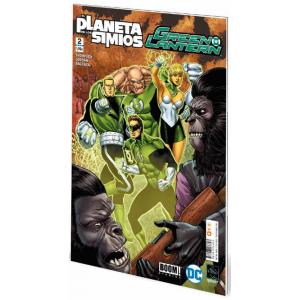 Green Lantern/El planeta de los simios nº 02
