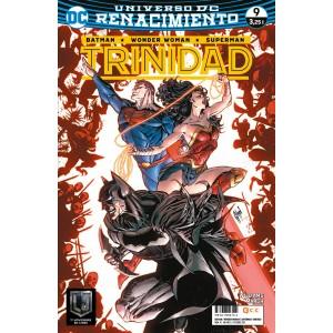 Batman / Superman / Wonder Woman: Trinidad nº 09 (Renacimiento)