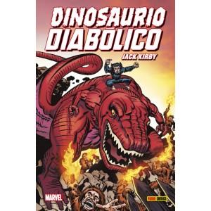 100% Marvel HC. Dinosaurio Diábolico de Jack Kirby