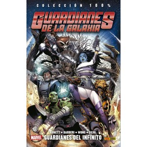 100% Marvel. Guardianes de la galaxia: Guardianes del infinito