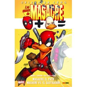 100% Marvel. Las Minis de Masacre nº 10: Masacre el pato / Masacre vs. El Castigador