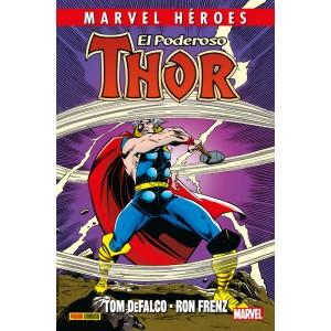 Marvel Héroes nº 83. El poderoso Thor de DeFalco y Frenz nº 01