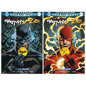 Batman/ Flash: La chapa