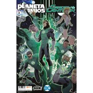 Green Lantern/El planeta de los simios nº 03