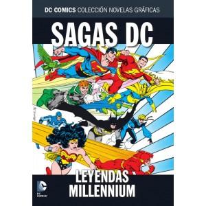 Colección novelas gráficas nº 39 Especial sagas DC: Leyendas/ Millenium