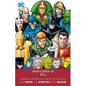 Grandes autores de la Liga de la Justicia: Keith Giffen, J.M. Dematteis y Kevin Maguire - Liga de la Justicia Internacional