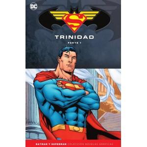 Batman y Superman - Colección Novelas Gráficas Especial: Trinidad nº 01