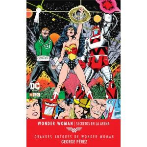 Grandes autores de Wonder Woman: George Perez - Secretos en la arena