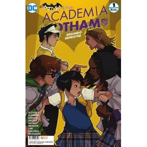 Batman presenta: Academia Gotham - Segundo semestre nº 01