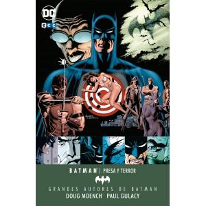 Grandes autores de Batman: Doug Moench y Paul Gulacy - Presa y terror