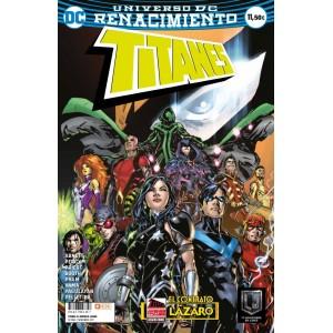 Titanes: El contrato Lázaro (Renacimiento)