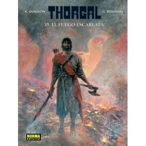 Thorgal nº 35: El fuego escarlata