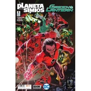 Green Lantern/El planeta de los simios nº 05