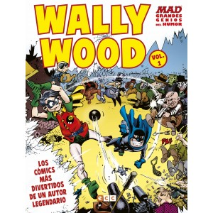 MAD Grandes genios del humor: Wally Wood nº 01