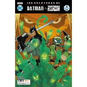 Las aventuras de Batman y las Tortugas Ninja nº 04